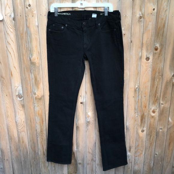 NWOT J Crew Matchstick skinny leg Jean Size 30